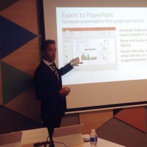 SQL Server durante el evento BI Barcelona 2016
