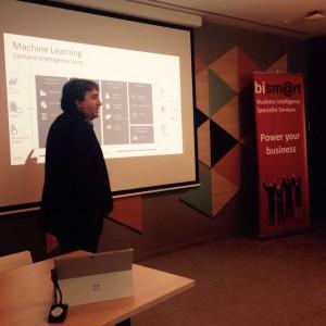 Director de Operaciones durante el evento BI Barcelona 2016