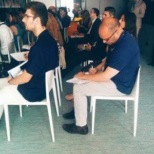 Attendants during the BI event Barcelona 2016