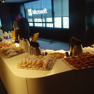 Desayuno durante el evento BI Barcelona 2016