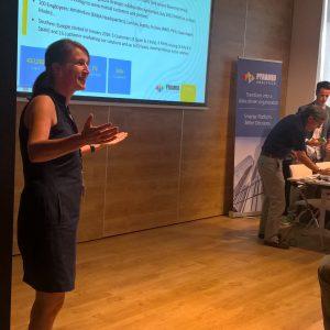Teresa Martinez durante el evento BI Madrid 2016