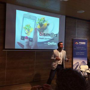 Director de marketing durante el evento BI Madrid 2016