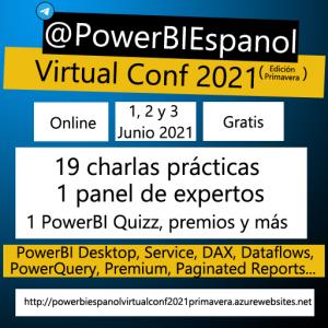 @PowerBIEspanol Virtual Conference 2021